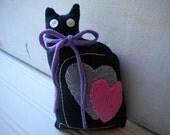 Black Love Cat