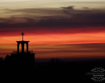 Santa Fe Sunset - 4x6 Original Fine Art Photograph