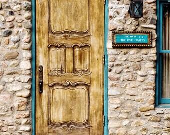 Doorway to 5 Graces - 4x6 Original Fine Art Photograph