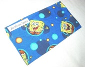 Sponge Bob Square Pants Blue Reusable Snack Sack