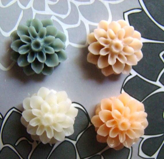 Set of Cute Chrysanthemum Magnets