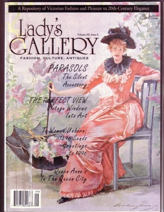 Lady's Gallery Magazine Vol. 3 Issue 6 Sept - Oct 1996