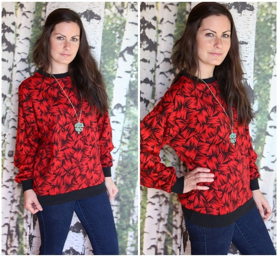 vintage 1980s hipster pullover sweater