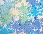 BULK SALE Snowflake Cardstock Punches 100pcs // Seaside