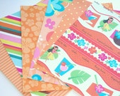 Orange Tropical Paradise Paper Pack Sampler