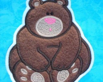 Applique patch - bear