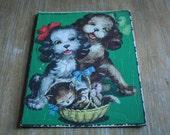 vintage PETS puzzle