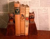 Antique Terrier Book Ends