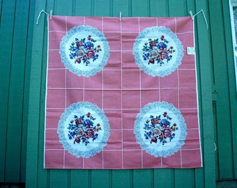 Incredible Vintage Tablecloth with Original Tag