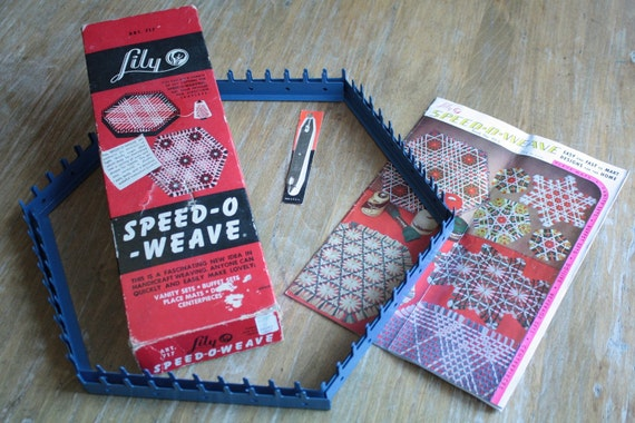 vintage SPEED-O-WEAVE in box