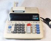 Sharp EL-1197G Printing Calculator to 10 Digits