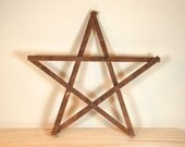 Amish Wooden Barn Star