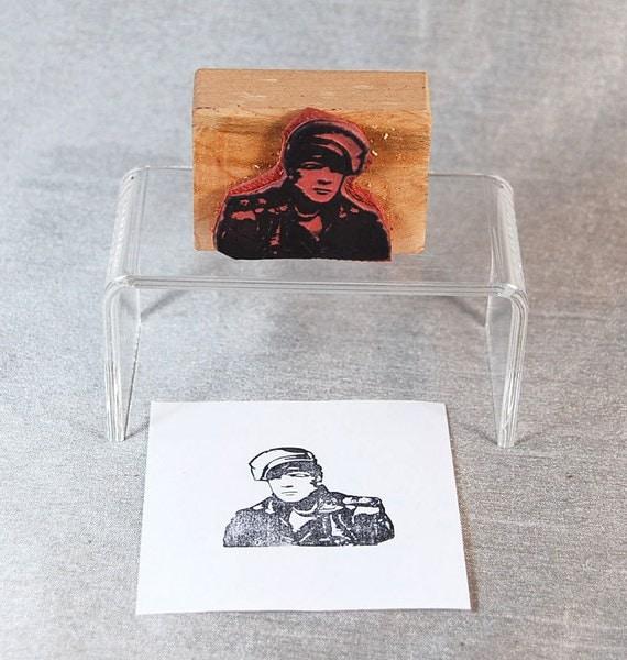 Marlon Brando Rubber Stamp