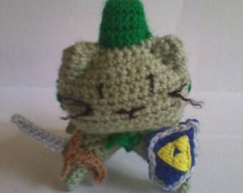 Legend of Zelda Link Cat Plush Toy
