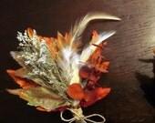 Custom Autumn Beauty Wrist Corsage