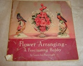 1940 Flower Arranging Booklet by Coca Cola