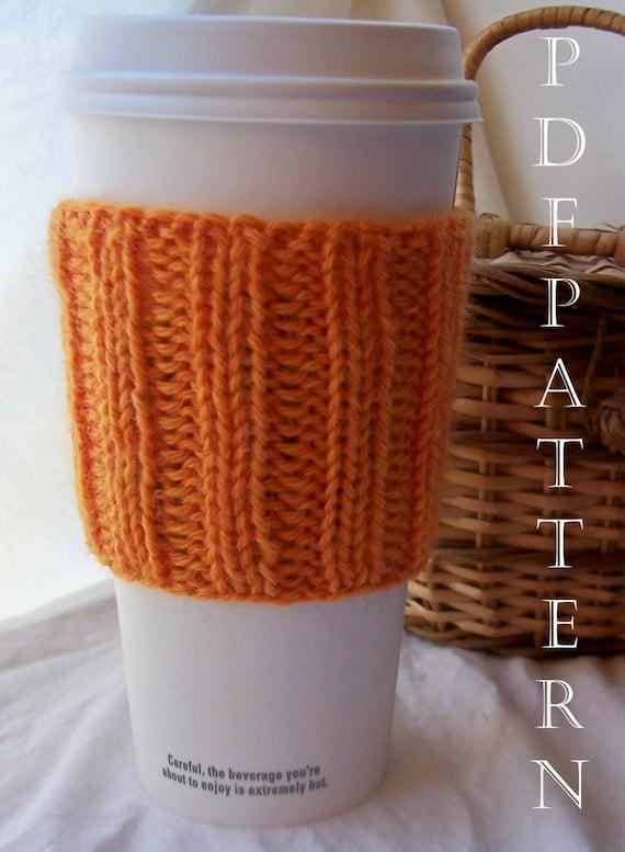 F R E E Masala - Cup Cuddler PDF Knitting Pattern