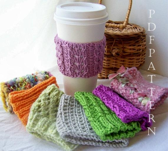 8 Cup Cuddler PDF Knitting Patterns