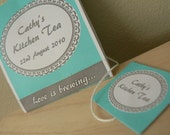 Bridal Shower or Tea Party Invitation or Favor