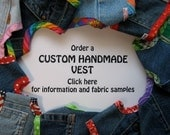 Dog Harness Vest  Custom Handcrafted