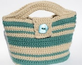 CROCHET PATTERN Florida Mini-Tote