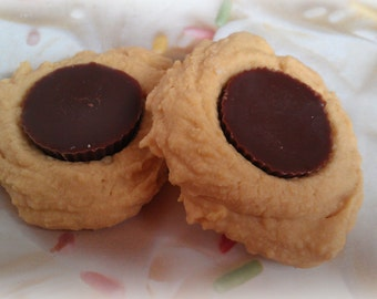 Peanut Butter Cup Cookie Tarts