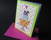 Cake Collage Card