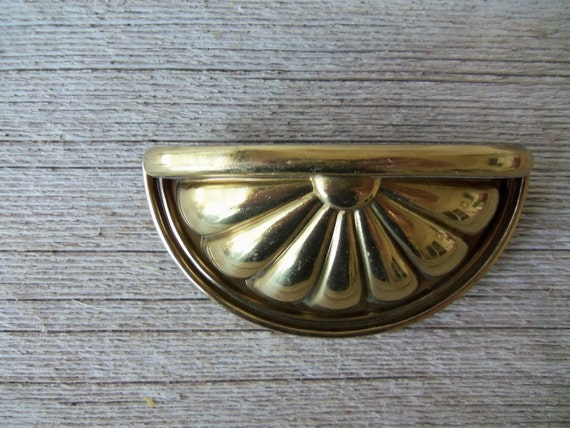 Vintage Brass Drawer Pull No. 2