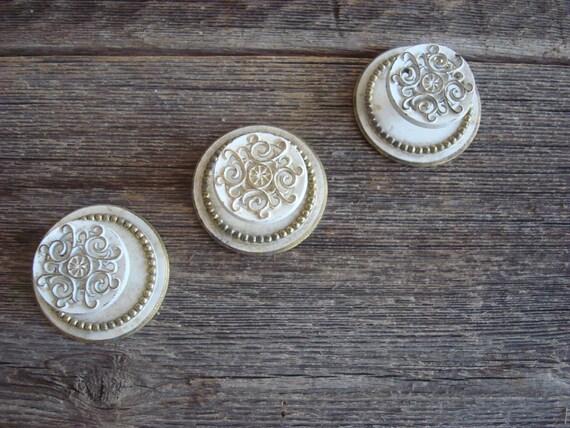 Beautiful Vintage Knobs, 2 Available