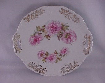 CLEARANCE Porcelain Handled Plate