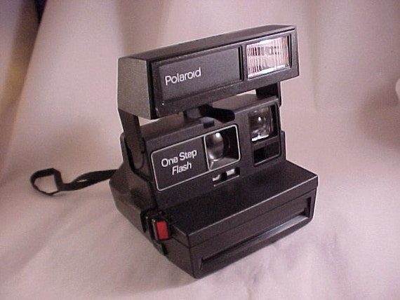 Polaroid One Step Flash Camera