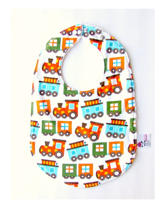 Organic messy eaters big bib