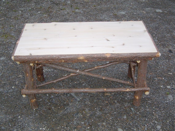 Rustic Twig Coffee Tablemade In Mainetwig Furniture
