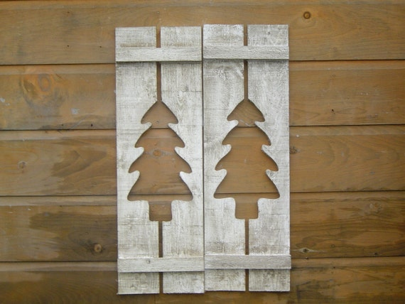 Maine Made Rustic Northwoods Camp Shutters