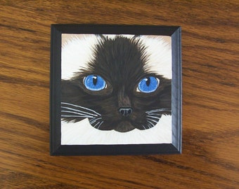Ragdoll Cat Face Magnet