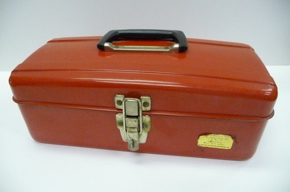 Electrolunch Lunchbox Vintage red metal Heat up your food Portable lunch