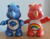 Carebear Poseable Dolls GRUMPY and CHEER Bear Poseable Care Bears TWO