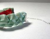Seafoam Green Ribbon Knot Bracelet