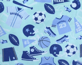 Lounge pants pajama dorm lounge flannel READY to SHIP size XL blue sports print