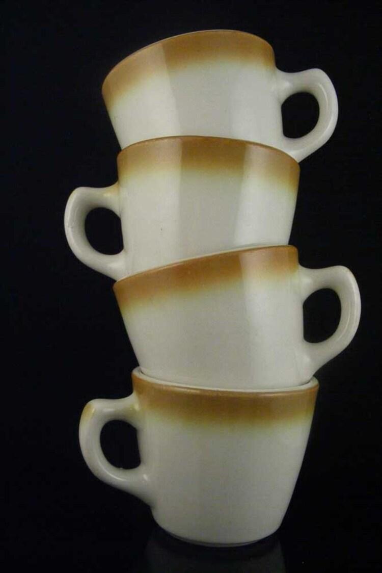 Vintage Coffee Mugs Cups Mcnichol Martin China Set Of 4 By