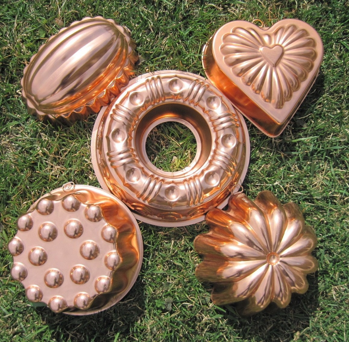 how to clean copper molds