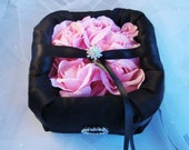 Tuxedo and Roses Ring Bearer Bowl. Choose Your Colors