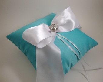 Romantic Ring Bearer Pillow from ORomeo