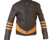 X-MEN Wolverine Origins Biker Style Expensive Cow Hide Leather Jacket in all sizes