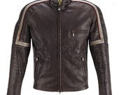 War of the Worlds Tom Cruise Cow Hide  Leather Jacket in all Size