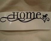 Home Vinyl Decal