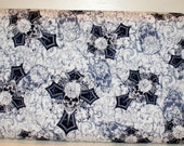 Skulls and Crosses Cotton Fabric 1 Yd