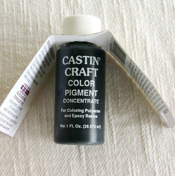 Black opaque pigment for resin and epoxy for Castin craft resin dye