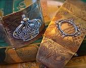 Etched Metal Hinged Cuff Bracelet Tutorial & Supplies Kit