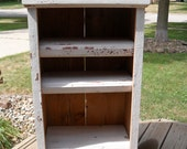 White Barn Wood Cabinet